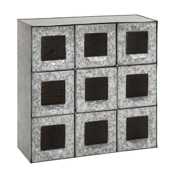 Studio 350 Metal 9 Drawers 18 Inches Wide High Free Shipping Today 17240713