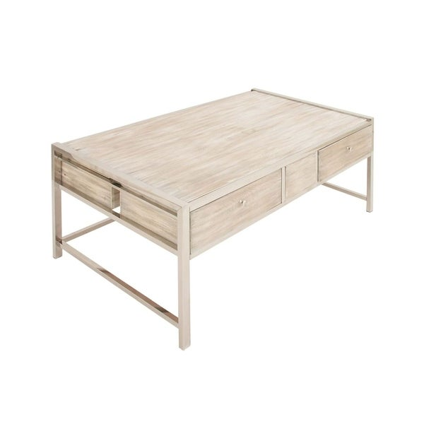 Studio 350 Ss Wood Coffee Table 47 Inches Wide 19 High