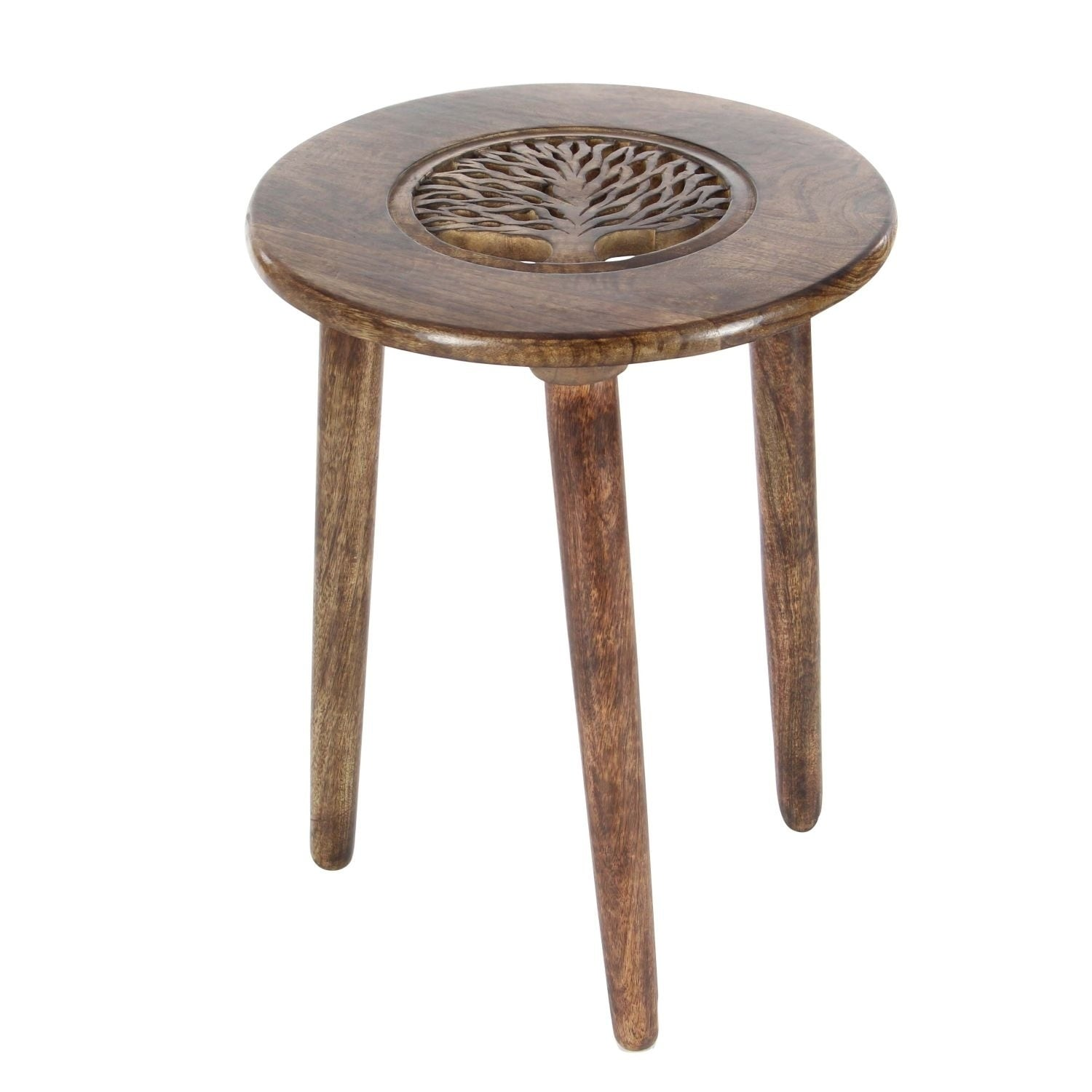 Studio 350 Wood Tripod Rd Table 17 inches wide, 22 inches high
