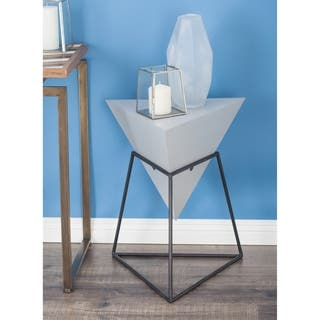 Buy Triangle Coffee Console Sofa End Tables Online At Overstock - Black triangle end table