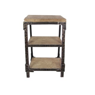 Studio 350 Wood Side Table 26 inches wide, 26 inches high