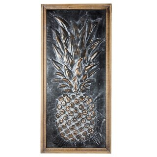 Metal Pineapple Wall Art