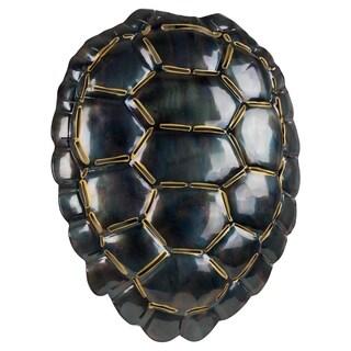 Medium Turtle Shell Metal Art Wall Sculpture