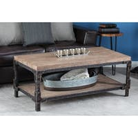 Studio 350 Wood Coffee Table 47 inches wide, 19 inches high