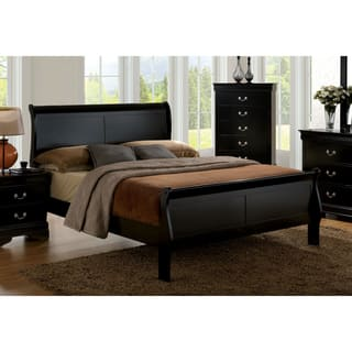 Furniture of America Mayday II Classic Twin-size Wooden Sleigh Bed|https://ak1.ostkcdn.com/images/products/17240992/P23495611.jpg?impolicy=medium