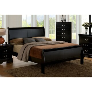 Copper Grove Hollybank Classic Twin-size Wooden Sleigh Bed