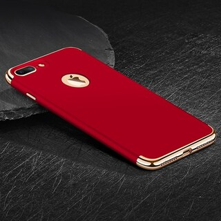 Ultra-Thin Hybrid Slim Hard Case Cover for iPhone 7 Plus (Option: Red)