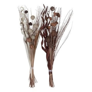 Studio 350 Dried Floral Set of 2, 46 inches high, 15 inches wide