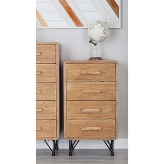 Studio 350 Wood Metal 4 Drwr Chest 20 inches wide, 34 inches high