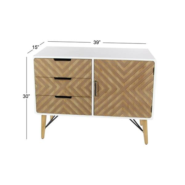 Studio 350 Wood Metal Cabinet 39 Inches Wide 30