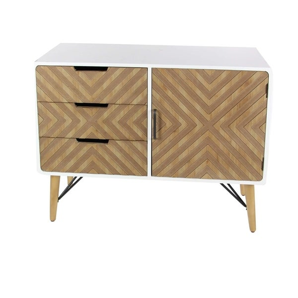Studio 350 Wood Metal Cabinet 39 inches wide, 30 inches high