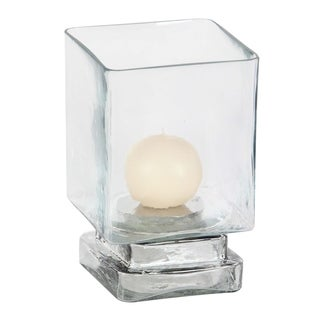 Clay Alder Home Mendota Glass Candle Hurricane 5 inches wide, 8 inches high