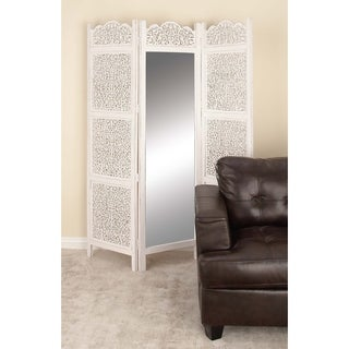Studio 350 Wood Mirror 3 Panel Screen 60 inches wide, 72 inches heightigh