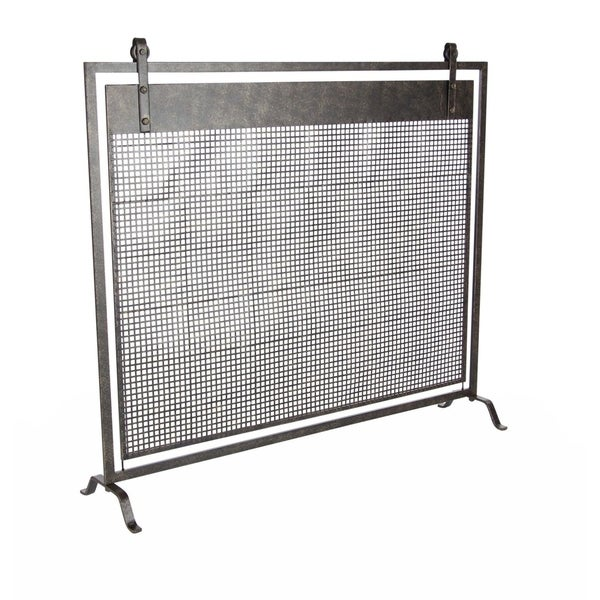 Studio 350 Metal Fireplace Screen 38 inches wide, 35 inches heightigh