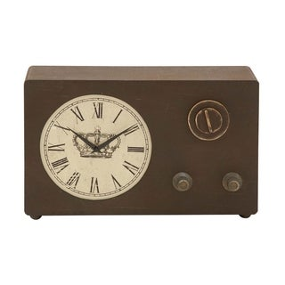 Studio 350 Wood Clock 18 inches wide, 12 inches high