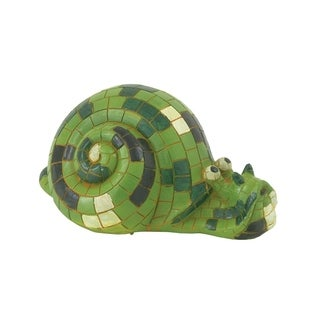 Studio 350 PS Grn Snail 15 inches wide, 7 inches high