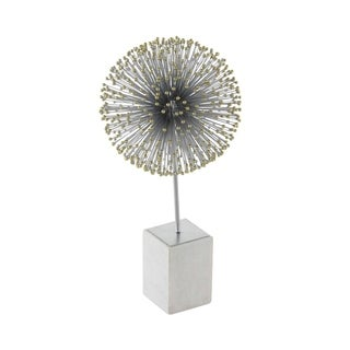 Studio 350 Metal Marble Star Ball 13 inches wide, 24 inches high