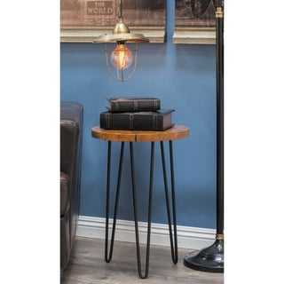 Studio 350 Teak Accent Table 15 inches wide, 23 inches high