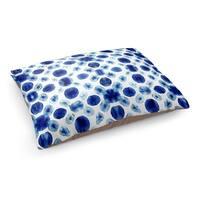 Kavka Designs Blue/White Shibori Circle Pet Bed