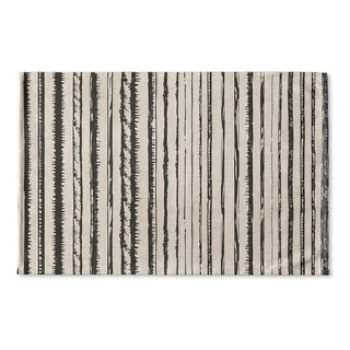 Kavka Designs Ivory/Grey Florentia Flat Weave Bath mat (2' x 3')