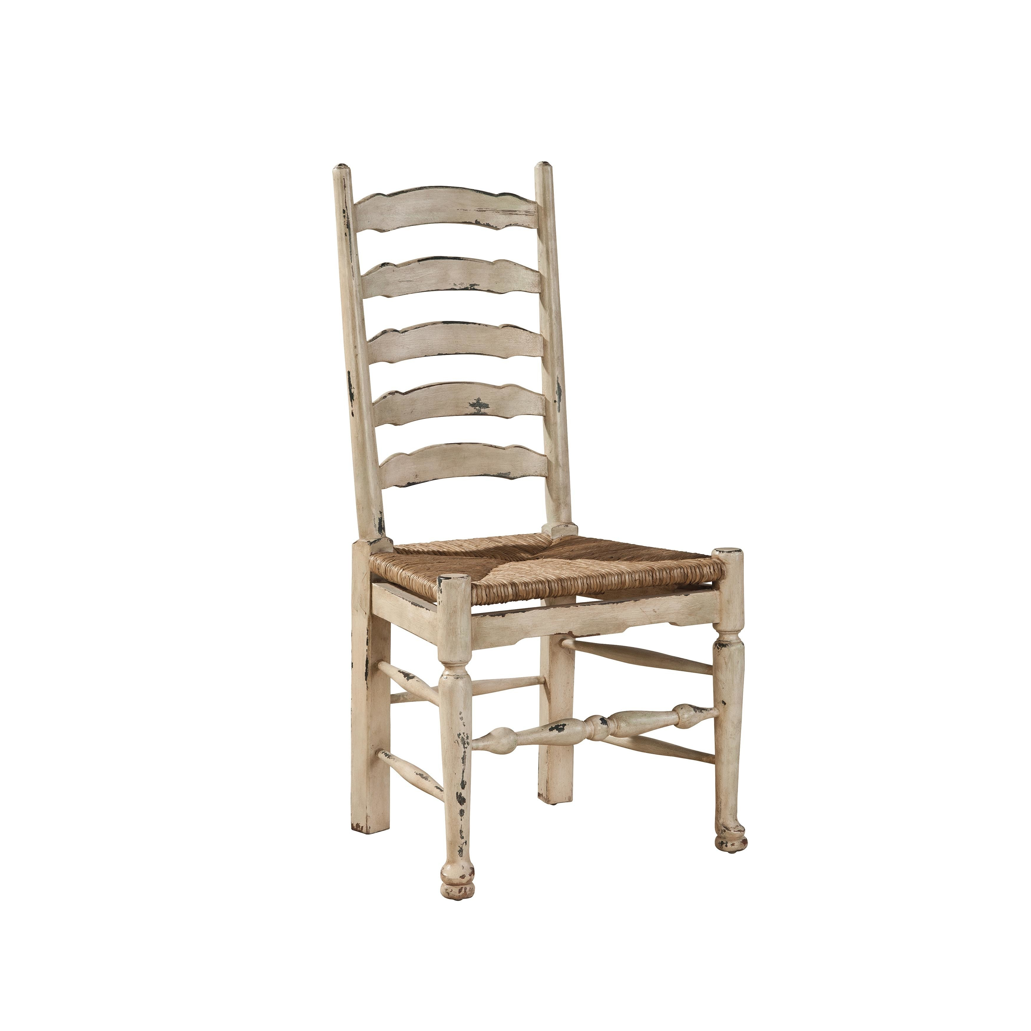White ladder back chair Kitchen & Dining Room Chairs