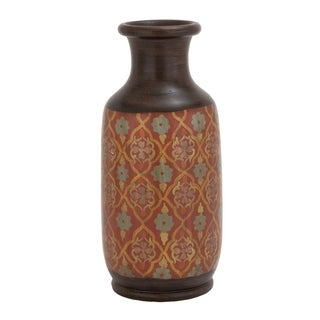 Studio 350 Terracotta Vase 9 inches wide, 21 inches high