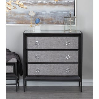 Studio 350 Wood Fabric Chest 32 inches wide, 32 inches high