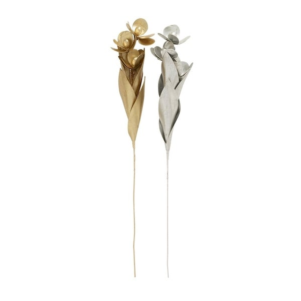 Studio 350 Eva Artificial Flower Set of 2, 5 inches wide, 42 inches -  95051