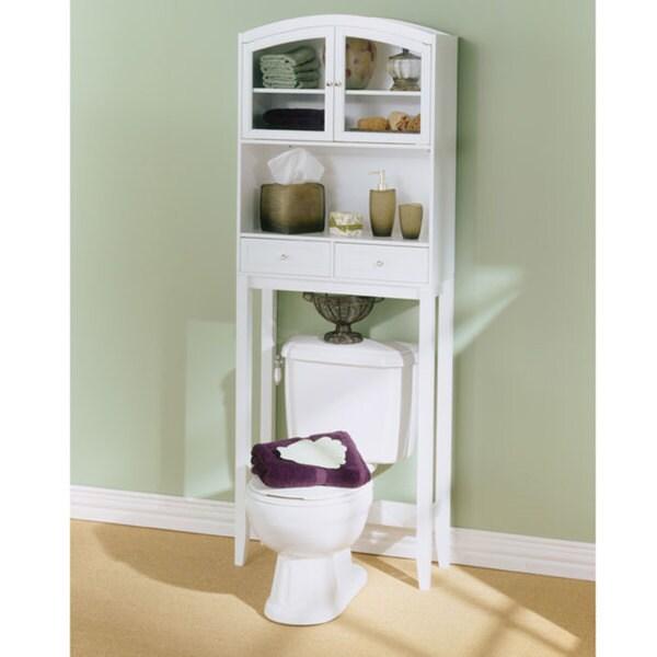 Arch Top Hardwood Bathroom Spacesaver