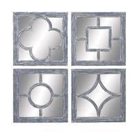 Oliver & James Buri Decorative Wall Mirrors (Set of 4)