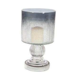 Studio 350 Glass Candle Hurricane 6 inches wide, 10 inches high