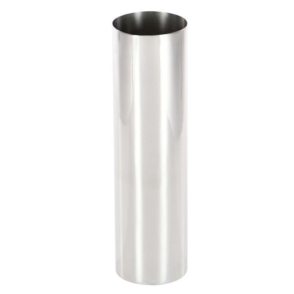 Shop Clay Alder Home Mendota Stainless Steel Vase 4 Inches Wide 14