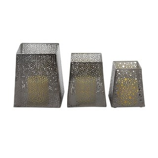 Carson Carrington Alavus Metal Candle Holder (Set of 3)