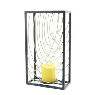Studio 350 Metal Candle Holder 7 inches wide, 14 inches high