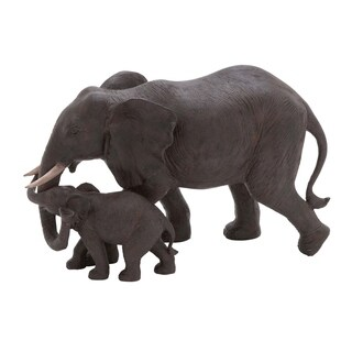 The Curated Nomad Merced Elephant Family Pair