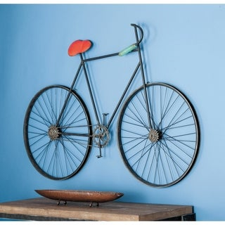 Studio 350 Metal Bicycle Wall Decor 56 inches wide, 37 inches high