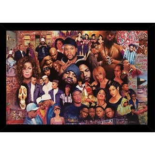 Legends of Rap & Hip Hop Poster With Choice of Frame (24x36)