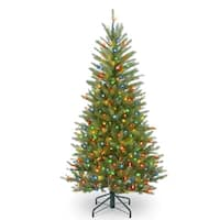 4.5 ft. Dunhill® Fir Slim Tree with Multicolor Lights