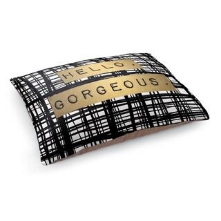 Kavka Designs Gold/Black/White Hello Gorgeous Pet Bed