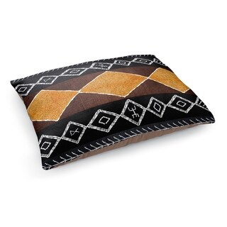 Kavka Designs Gold/Black/White Aden Pet Bed By Terri Ellis