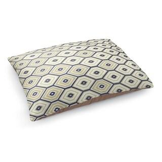 Kavka Designs Gold/Blue Honey Comb Blue Pet Bed