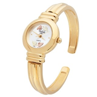Black Hills Gold Bangle Watch