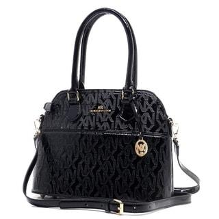 Noble Exchange Dome Black Tote Handbags