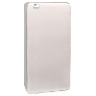 Sealy BabyPedic Posture Supreme 2-Stage Dual Firmness Crib Mattress - Silver