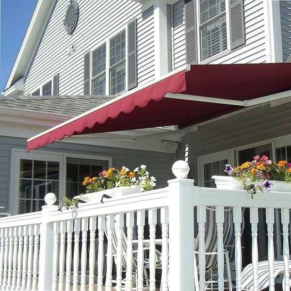 retractable aleko awnings and lovely superior for free good awning cover reviews southern patio
