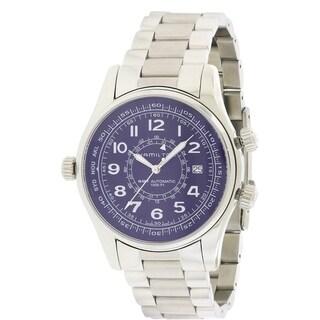 Hamilton Khaki Navy UTC Automatic Chronograph Stainless Steel Mens Watch H77505133