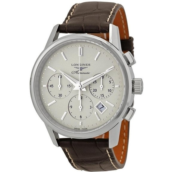 815db2a1e428e Shop Longines Flagship Heritage Automatic Chronograph Mens Watch L27494722  - Free Shipping Today - Overstock - 17269463