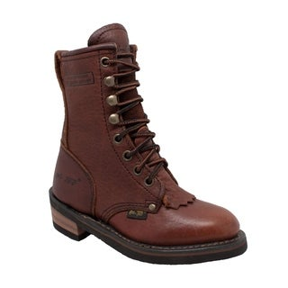 Children's Packer Boot Chestnut