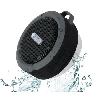 Mini Portable Bluetooth Speaker Sucker Waterproof Outdoor Climbing Bluetooth Stereo Speaker with Hook
