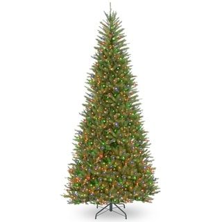 9 ft. Dunhill® Fir Slim Tree with Multicolor Lights